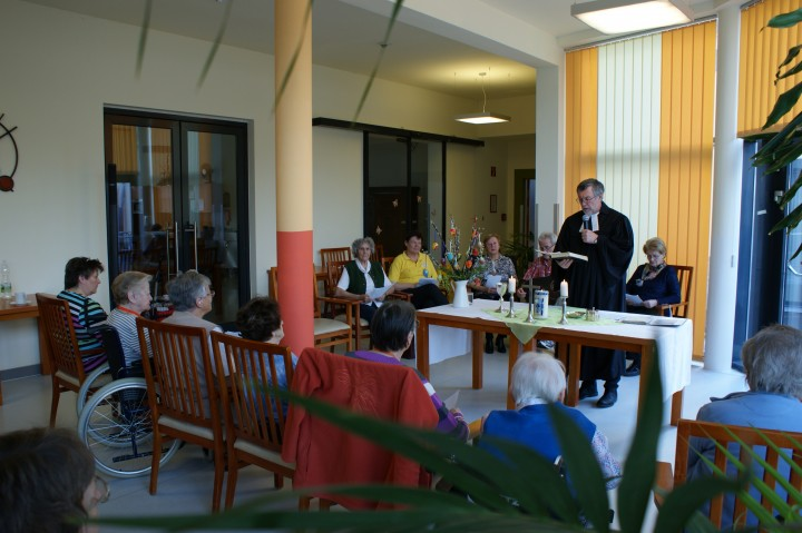 Gottesdienst im Seniorenheim